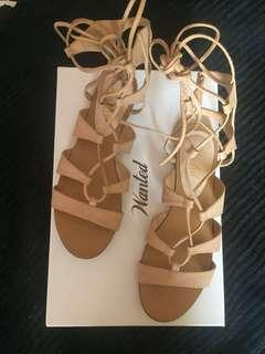 Gladiator Sandals by Wanted.