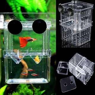 🚚 Aquarium Isolation Fish Breeding Box Shrimp Hatchery Fish Tank Incubator