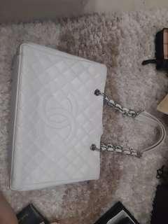 Chanel GST Chain Shoulder Tote Bag