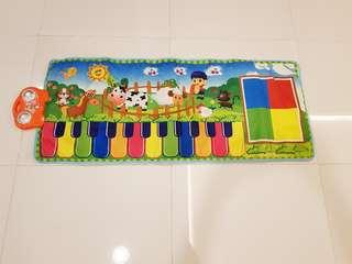 Baby music learning carpet