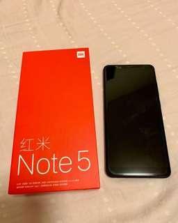 小米 紅米Note 5 新淨國行