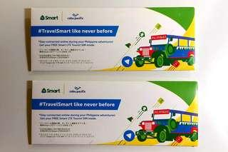 菲律賓旅遊 Philippines Smart Free Smart LTE Tourist SIM (Cebu Pacific)