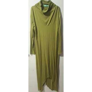Dress Muslim Daily /Inner Gamis Loockup Size L