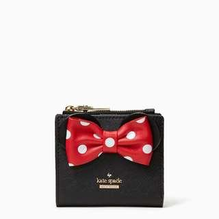 🚚 Kate Spade Minnie Mouse Adalyn Small Wallet