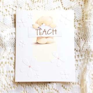 [Hallmark Teacher's Day] Teach.. Er Card.