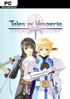 🚚 Tales of Vesperis Definitive Edition STEAM PC