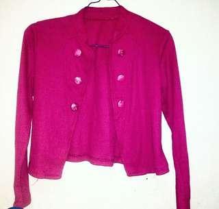 Blazer Pink Fuschia