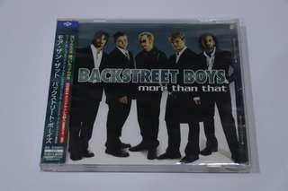 Backstreet Boys: More Than That - Single