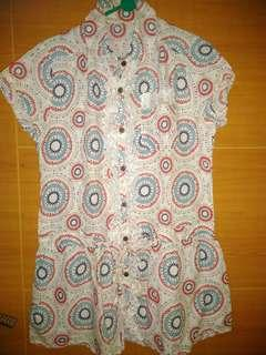 #SuperDeal (Preloved) Blouse lucu (Kode:049)