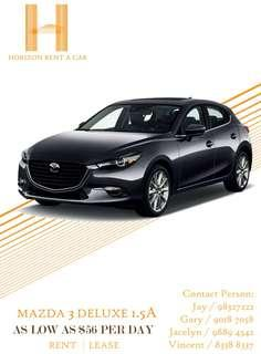 SG MOST REVIEWED CAR RENTAL COMPANY