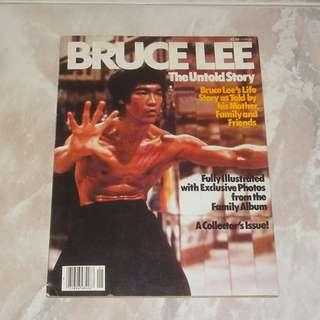 Bruce Lee The Untold Story Magazine 1979 USA First Printing The Orphan Enter The Dragon Game Of Death US Movie Premiere