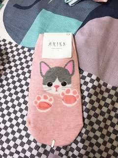 🚚 韓國🇰🇷帶回襪襪-小灰貓