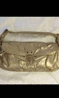 Prelov Hayden harnett golden colour bag. Bot fm USA. Good condition n clean inside n out. Spacious, can put a lot of things.