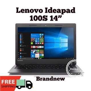 "Lenovo IdeaPad 100s-14"" Laptop Original Brandnew"