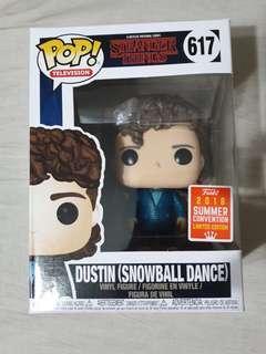 Funko Pop Dustin Snowball Dance