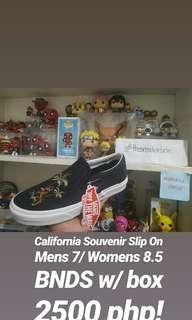 Vans Slip On California Souvenir