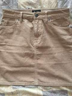 BARDOT Corduroy tight fitted skirt