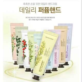The Face Shop perfumed handcream