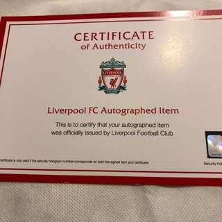 limited edition liverpool t-shirt