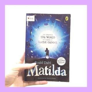 Book: Matilda by Roald Dahl