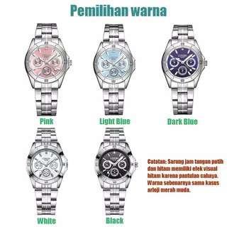 Longbo 100% original jam tangan quartz