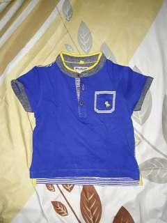 Poney polo shirt size 12-18m