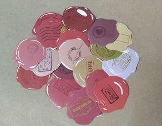 20pcs. Wax Seal Style Sticker Set A