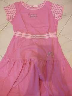 🚚 Pink Top & Skirt