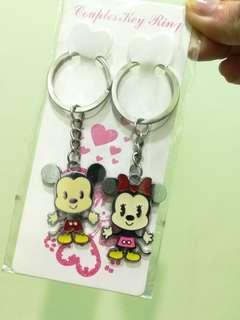 Couple Mickey & Minnie Key Chain