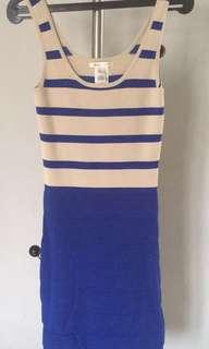 Body Con Dress Stripes