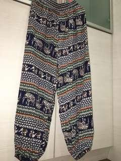 Colourful Elephant Beach Pants