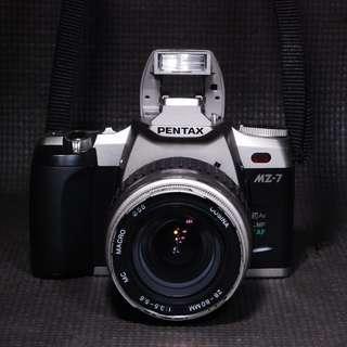 Working Pentax MZ 7 SLR Film Camera