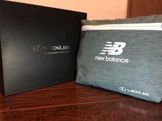 🚚 全新 Lexus X New Balance 收折式多功能背包