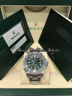 """***SOLD*** BNIB Unworn Overseas Set ♛ Rolex Submariner 116610LV """"Hulk"""""""