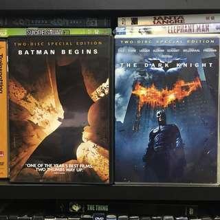 蝙蝠俠 Batman begins / the dark knight 雙碟特別版