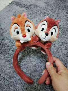 Chip and Dale Disney hairband