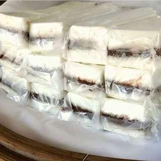 暫停販售-代購(常溫)4入新竹城隍廟手工限量茯苓糕(原味/紅豆)