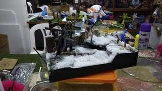 Diorama 1/18 (sold)
