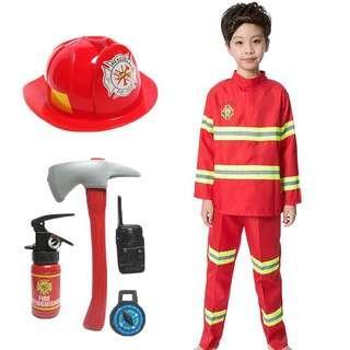 KIDS COSTUME RENTAL FIREMAN