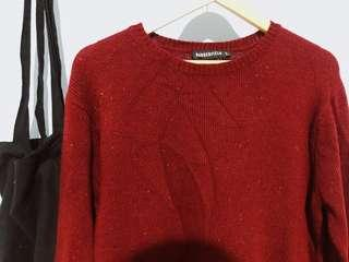 Revival Red Knit .