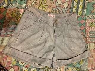 女裝牛仔褲 灰色