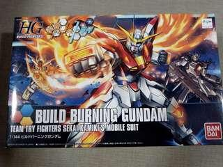 HG 1/144 Team Try Fighters Build Burning Gundam