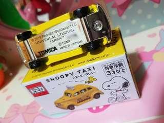 現貨 一部 Tomy Tomica USJ snoopy Taxi 日本環球影城 史努比 的士