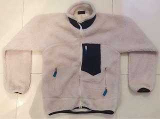 抓毛外套 fleece jacket