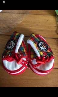 Mickey baby shoes初生BB鞋仔(全新)$20