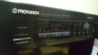 PIONEER MA-90麥克風迴音器 混音器