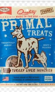 Primal Freeze Dried Turkey Liver