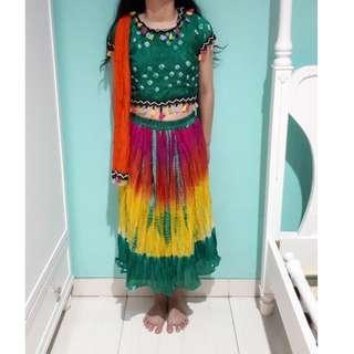 Baju India Anak Perempuan 7-11 Tahun New
