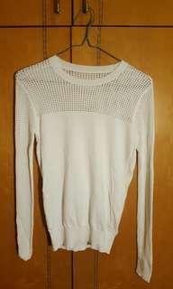 Jack wills sweater in white size S