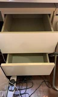 🚚 Ikea Malm 2 drawers